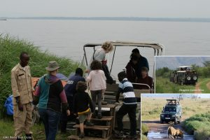 Boat trip as a Rwanda Safari activity in Akagera National Park